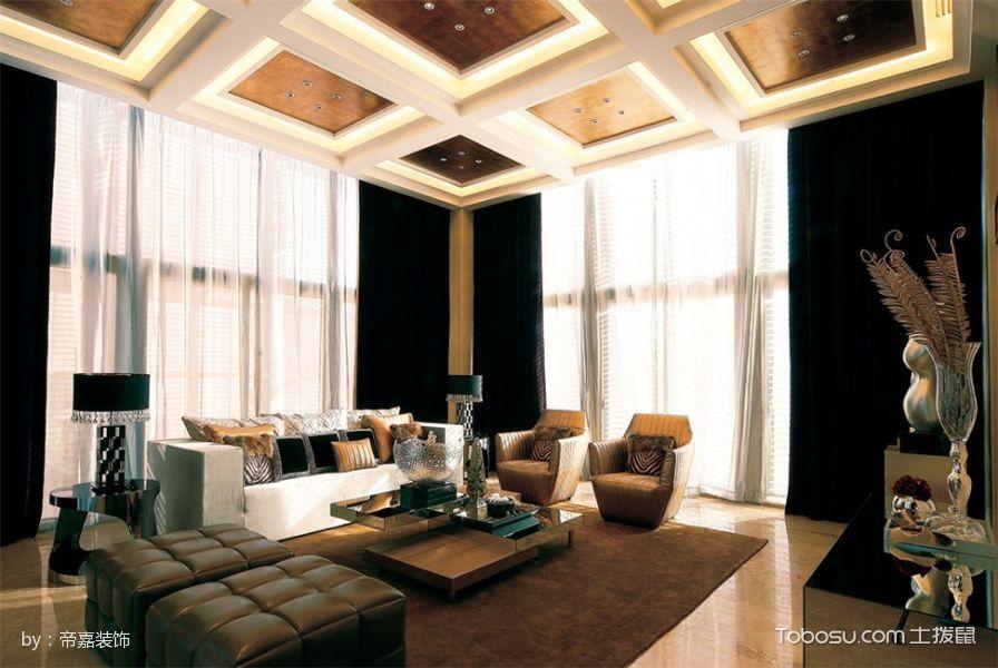 现代简约风格别墅豪装案例效果图