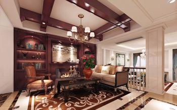 现代混搭美式豪华别墅装修设计图