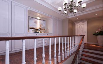 楼梯美式风格装潢效果图