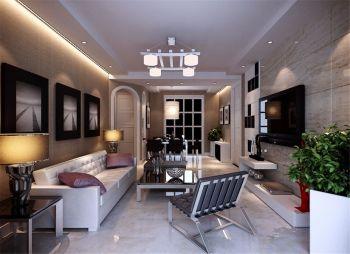 92平户型现代风格三居室装修图片