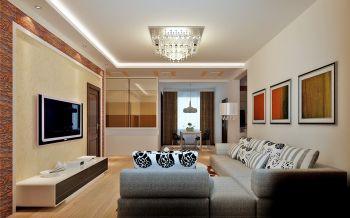 现代简约三房案例设计图片