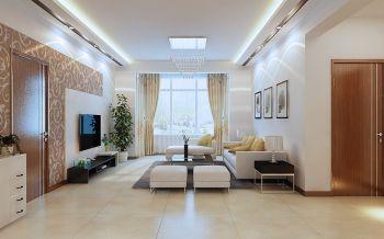 舒适型现代简约家居设计效果图