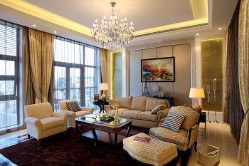 平层别墅现代欧式风格装修图