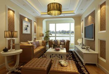 金盛苑王先生现代西式两居室装修效果图