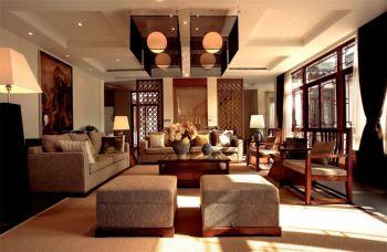 中式风格庭院案例设计效果图