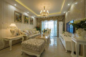 碧桂园120平三室两厅简欧风格实景图