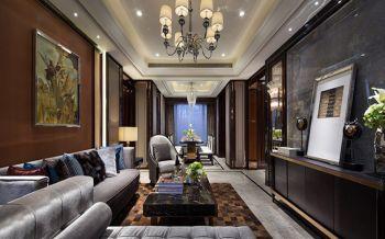 四季云顶欧式古典风格三居室装修效果图案例