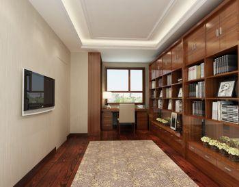 书房现代简约风格装饰图片