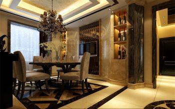 餐厅现代欧式风格装潢设计图片
