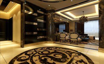 走廊现代欧式风格装饰效果图