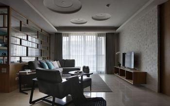 客厅简约风格装潢设计图片