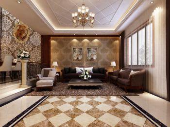 客厅照片墙现代欧式风格装潢设计图片