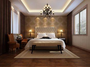 卧室窗帘现代欧式风格效果图