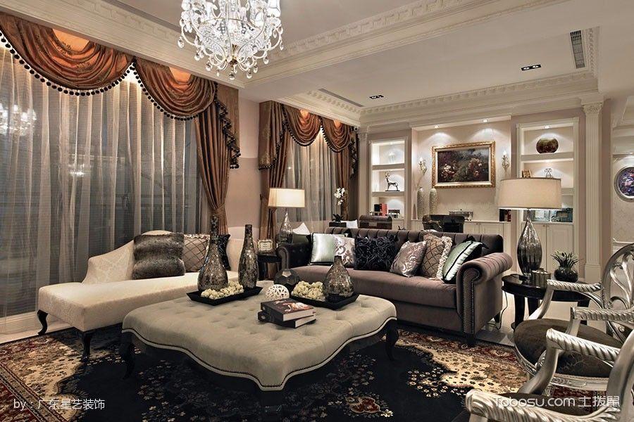 2019新古典客厅装修设计 2019新古典设计图片
