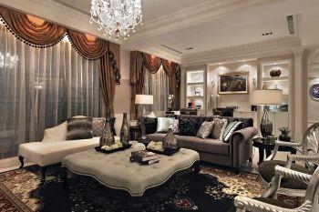 新古典豪华四居室装修样板间