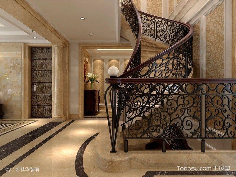 2019现代欧式设计图片 2019现代欧式楼梯装修效果图片