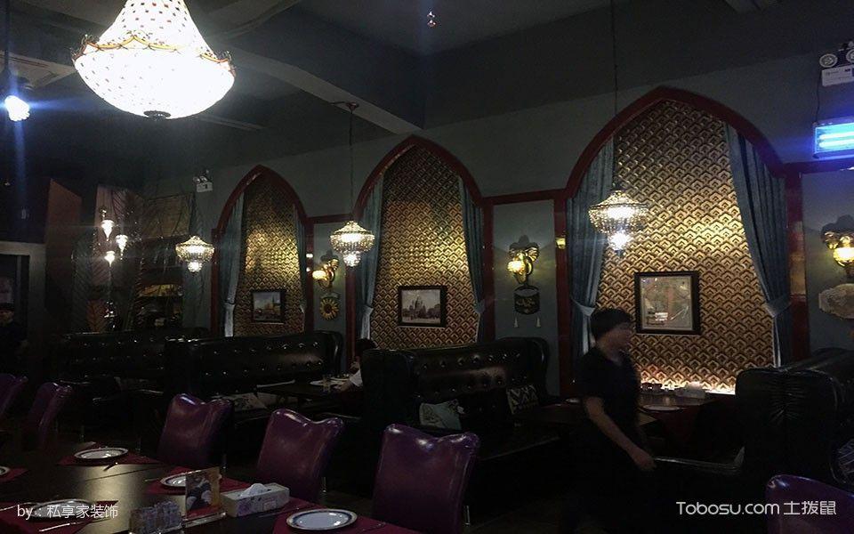 阿拉伯餐厅餐厅座位装潢图片