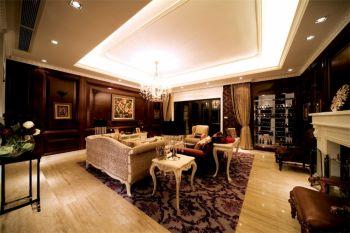 舒适欧式风格混搭三居室设计案例