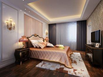卧室现代欧式风格装潢图片