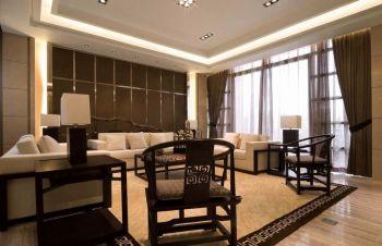 第博雅园现代中式风格四居室装修效果图