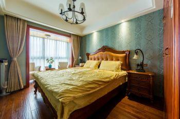 婺江家园现代美式风格装修效果图