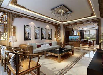碧桂园现代中式风格大户型装修案例