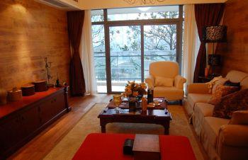 香兰嘉园混搭三居室暖色装修设计图片