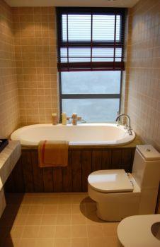香兰嘉园欧式三居室暖色装修设计图片