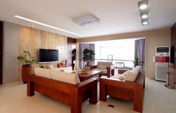 2018现代中式150平米效果图 2018现代中式四居室装修图