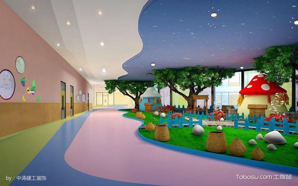 幼儿园走廊装潢设计