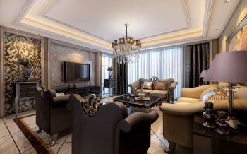 2019现代欧式150平米效果图 2019现代欧式四居室装修图