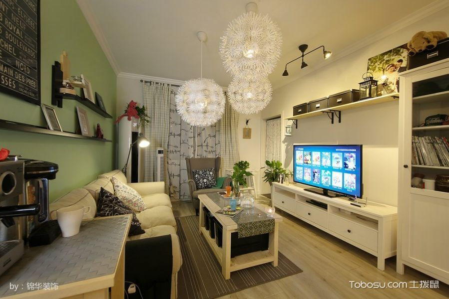 长江国际朗庭89平现代北欧风格实景案例