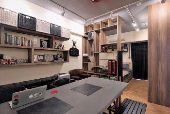 30平米迷你简单1房1厅1卫小户型装修设计效果图