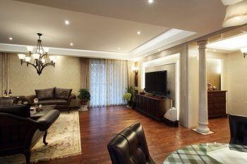 金地艺境美式风格三居室装修图片