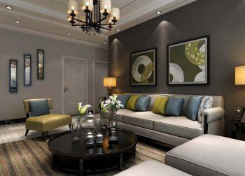 2018现代90平米效果图 2018现代二居室装修设计