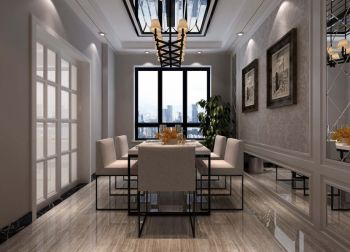 2020简欧150平米效果图 2020简欧三居室装修设计图片