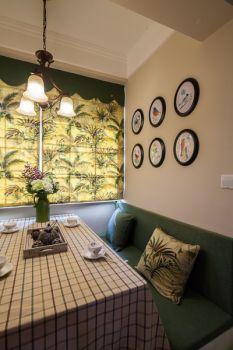 美式混风三室两厅设计效果图案例