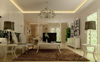 景瑞望府60平一房一厅简约风格小户型装修效果图