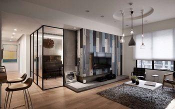后现代简约设计楼房装修效果图