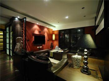 弘建一品后现代风格三居室装修图片