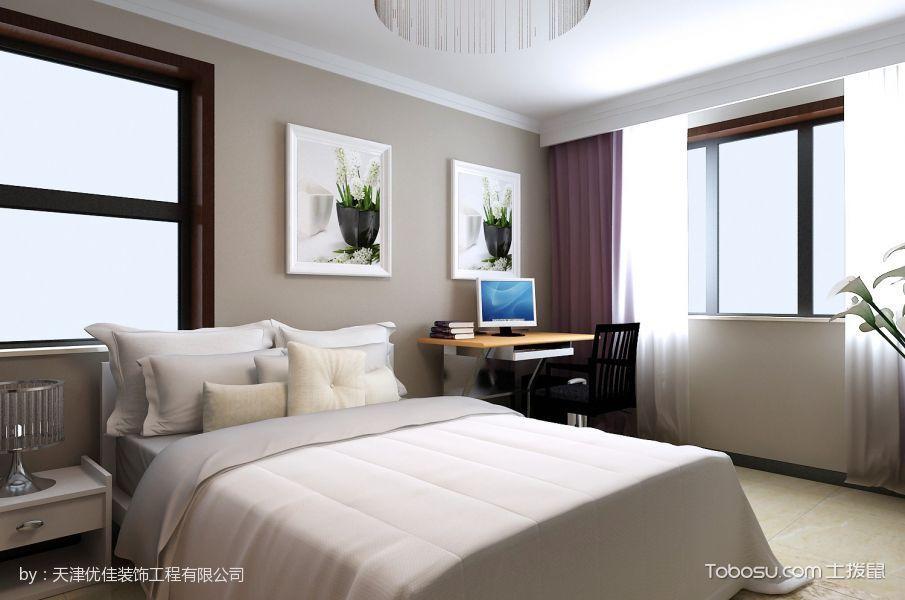 50平米简约风格两房一厅小户型装修效果图