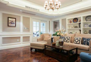 清新混搭风三居室家庭装修案例图片