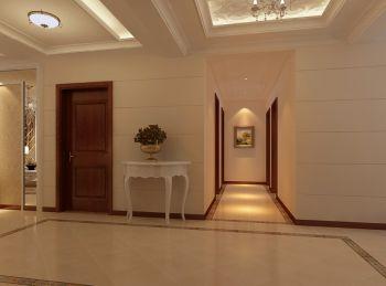 暖色调简欧风格二居室装修效果图