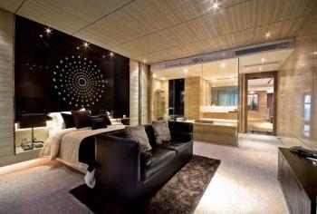 金海湾花园现代风格四居室装修设计图片