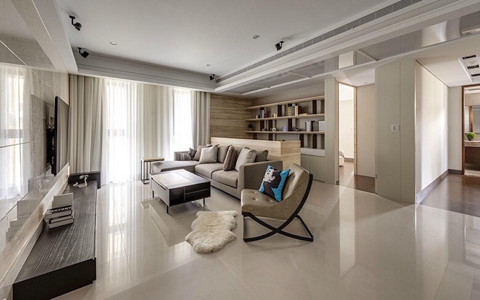 3室2卫2厅90平米简约风格