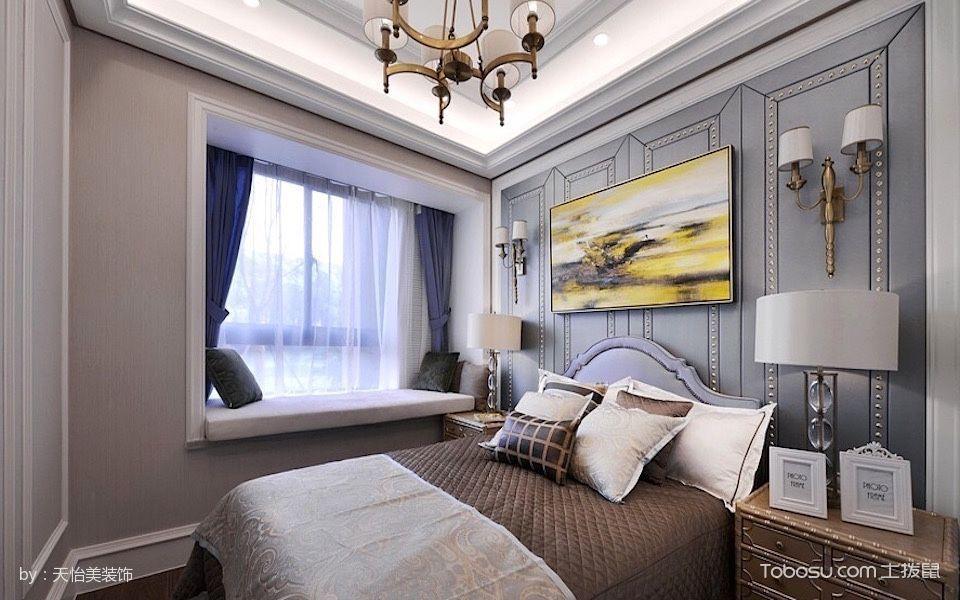 卧室米色榻榻米混搭风格装潢设计图片