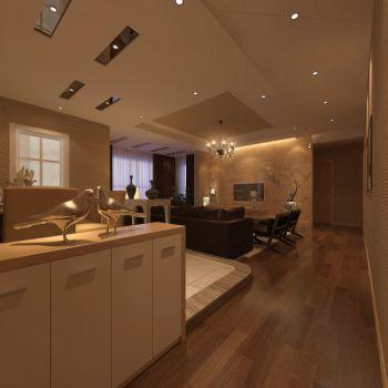 现代风格三居室套装效果图
