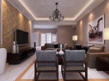 现代简中式家居装修效果图案例
