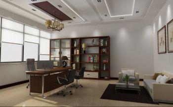 20万预算办公室工装装修效果图