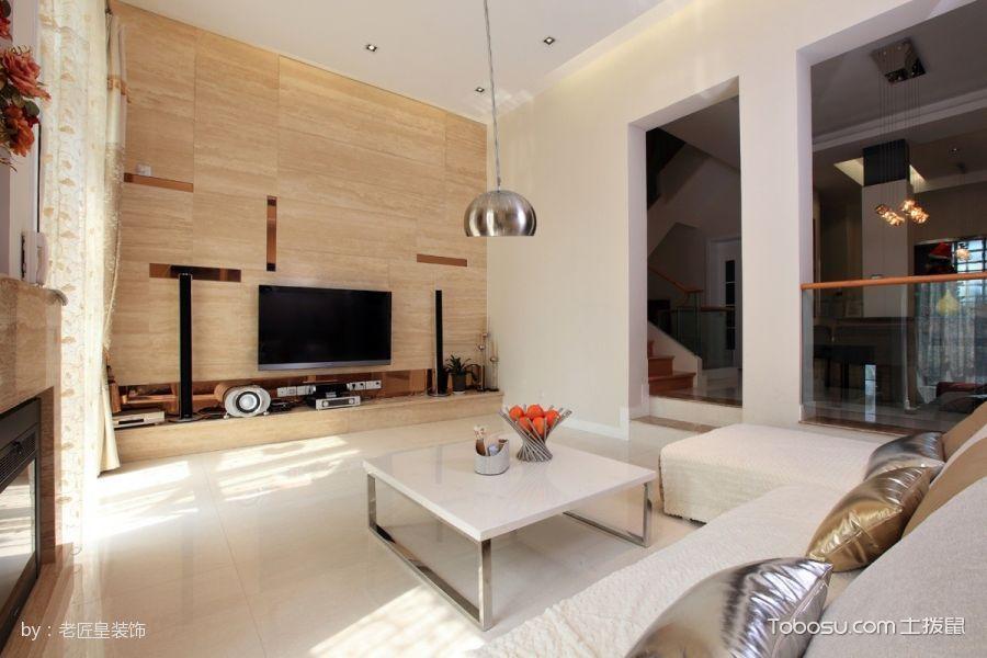 现代简约风格简单别墅装修效果图